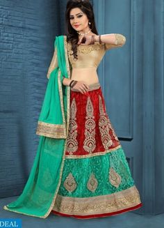 Buy now Tulsi Wholesale present Attractive Casual Lehengas online