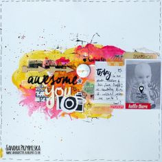 Passionate about Scrapbooking !: Once Upon A Sketch - May Challenge