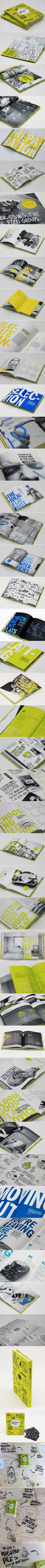 Flatmate's Handbook https://www.behance.net/gallery/Flatmates-Handbook/5931719