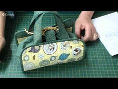 Patchwork Ao Vivo: toalha americana que vira bolsinha | Cantinho do Video Curso em Vídeo Aulas de Patchwork