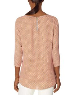 Layered Printed Blouse The Limited