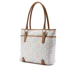 Croft & Barrow® Triple-Entry Logo Tote  #tote http://couponcodezone.com/stores/kohls/