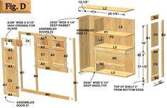 Hoosier Cabinet Plans - Kennedy Hardware LLC