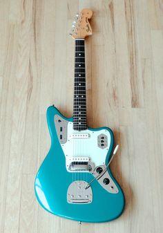 2005 Fender Jaguar '62 RI American Vintage AVRI USA Guitar Ocean Turquoise