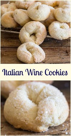 Wine cookies ciambel