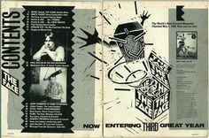 """kingy graphic design history: ROXY: """"The Face"""" - Neville Brody History Magazine, Magazine Art, Magazine Spreads, Web Design, Book Design, Design Layouts, Creative Design, Neville Brody, The Face Magazine"""