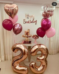 18 Birthday Party Decorations, Gold Birthday Party, Birthday Backdrop, Birthday Balloons, Birthday Parties, Birthday Girl Pictures, Birthday Goals, Check, Baby
