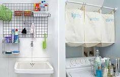 Resultado de imagem para lavanderia muito pequena