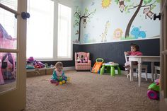 playroom, kids, playroom kids, ideas, room remodel, renovation, diy, wall decals, decals