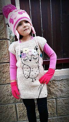 beate1 / Háčkované šaty-zimné