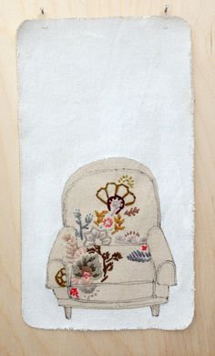 Embroidery by Kate FitzGerrell