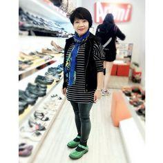 #kahyinfamily .  我的潮童母親☺ My super trendy mama .  @kahyinlam . #母親 #媽媽 #購物 #鞋 #潮物 #香港 #分享 #心境 #文字 #ootd #beauty #mom #punk #shoes #shoppingday #trend #style #fashion #hkfashion #instadaily #hongkong #hongkonger #hkig #hkiger #sgig #sgiger #instalife #lovelife #instadaily #kahyinlam