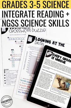 This no prep science packet bundle is perfect for teaching a 5 day lesson on a variety of topics! It includes all printable worksheets and a Google version for distance learning or classroom devices. Aligned to NGSS. This bundle covers all NGSS for grades 3, 4, and 5! It also includes a BONUS pacing guide for the year + portfolio rubric.