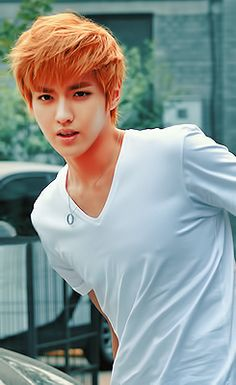 EXO-M Kris. Ahhhhh I get to meet him in less then a month!!! Can't wait for KCON!! AHHH ~Colleen