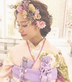 She's A Woman, Traditional Hairstyle, Japanese Wedding, Japanese Hairstyle, Running Women, Headdress, Bridal Hair, Wedding Hairstyles, Stylists