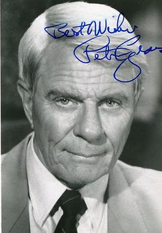 Peter Graves Actor Deceased Autograph Signature Mission Impossible B Photo w/ COA Famous Men, Famous People, Deathly Hallows Book, Harry Potter Ron And Hermione, Celebrities Who Died, Celebs, Peter Graves, Thanks For The Memories, Mission Impossible