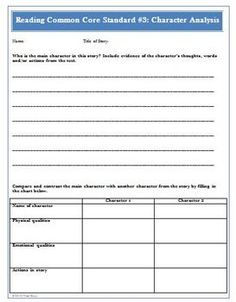 This is an 18 page document that includes assessment worksheets and rubrics for The Common Core Reading Standards 1-6. Topics included are: inferences, comprehension, key ideas and details, characters, setting, words and phrases, story structure, and author's point of view. These are geared for grades 4-5, but can be adapted to fit all grades. ($)