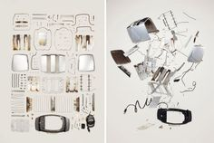 1: Smartphone, 2007   A Photographer Finds Order And Chaos In Disassembled Gadgets   Co.Design: business + innovation + design