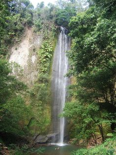San Ramon, Costa Rica...went to this beautiful waterfall and hiked to the top.