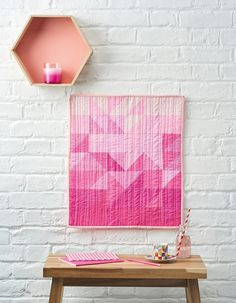 What's your colour crush? We're feeling rosy with pink hues thanks to Lou Orth's tone-on-tone mini quilt in issue 53. Give it a go and nail the trend for all things ombre! Inside the issue we'll talk you through how to cleverly combine half square triangles in gently variating solid tones of the same colour – then add extra... Continue reading →