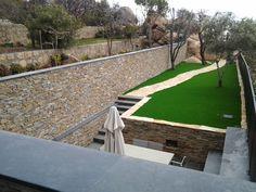 STONEPANEL® y pizarra natural CUPA, los mejores materiales para decorar la terraza   CUPASTONE   #piedra #pizarra #deco #exterior #design #architecture