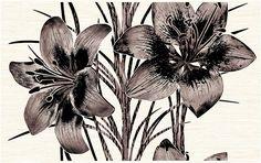 """""""Piano"""" - Вставка декоративная 400х250 Plants, Flora, Plant"""