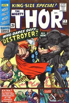 Thor King-Size Special Vol 1 2. Por Jack Kirby. #JackKirby #Thor