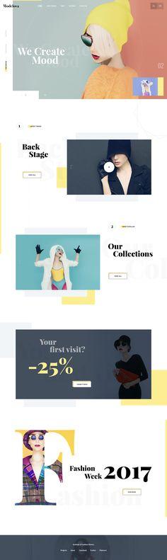 Fashion e-commerce design Exploration by Rono Layout Site, Website Design Layout, Layout Design, Website Designs, Grid Web Design, Best Web Design, Graphic Design, Newsletter Design, Fitness Design