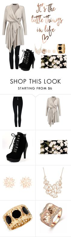 """""""Out W/ Your Girls"""" by salahmariamghazaly on Polyvore featuring Maria Grachvogel, Dolce&Gabbana, Charlotte Russe, Ted Baker and INC International Concepts"""