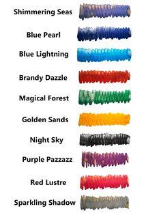 Diamine Shimmering inks #Diamineinks #Diamine #Shimmering #inchiostri #fountainpens #pens #colors #casadellastilografica