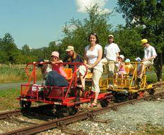 Vélo Rail de Commequiers
