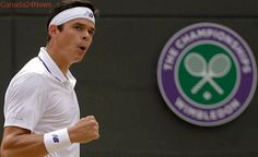 Raonic rides straight-sets victory to Wimbledon's 4th round