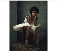 @ingridsilva || Beautiful ballerina. natural ballerina. Ballerina with natural hair. Dancers with natural hair. Ballerina with Afro hair. Dark skin beauty. Dancers with afros. Dark Bella Black ballerina.