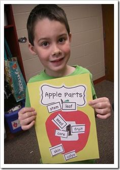 CUTE for science activity and labeling!