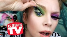 GLAMNETIC Lashes! - Does This Thing Really Work? Eyeliner Tutorial, The Only Way, Eyelashes, How To Become, Halloween Face Makeup, People, Youtube, Hair, Tutorials