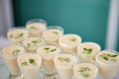 Vichyssoise: creamy soup of white leeks & creamy potato finished with fresh herbs  |  Photography by Critsey Rowe