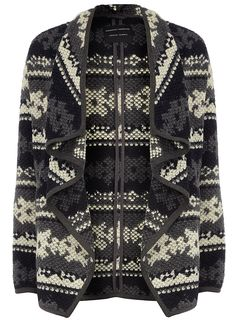 Blue and grey coatigan - Coats - Clothing - Dorothy Perkins Fashion 101, Autumn Fashion, Fashion Outfits, Fasion, My Life Style, Style Me, Classic Wardrobe, Petite Outfits, Coatigan