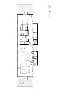 112 best 10 12 ft wide tiny cabins images on Narrow House Plans, Small House Floor Plans, Modern House Plans, Dream House Plans, The Plan, How To Plan, Flat Plan, Long House, Building A Container Home