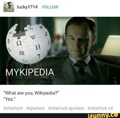 Yes : Used to give an affirmative answer Sherlock Season, Sherlock Holmes, Bbc Musketeers, Benedict And Martin, Sherlolly, 221b Baker Street, John Watson, Johnlock, Film Serie