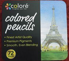 Heather Speaks Out: Colore 72 Premium Pre-Sharpened Color Pencil Set R...