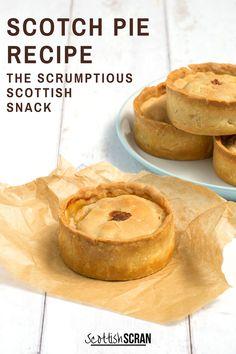 Scottish Meat Pie Recipe, Scottish Recipes, Irish Recipes, Lamb Recipes, Cooking Recipes, Mini Pie Recipes, Scotch Pie Recipe, Pork Pie Recipe, Mince Pies Recipe