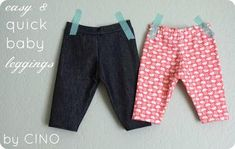 http://www.craftinessisnotoptional.com/2012/10/easy-and-quick-leggings-tutorial.html