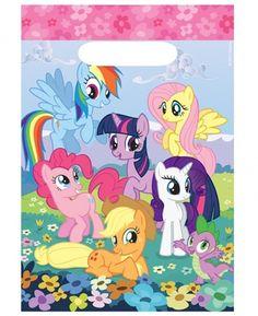My Little Pony feestartikelen feestzakjes (8st)