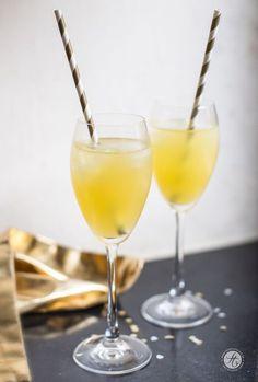 Mandarine-Gin-Chai-Fizz Rezept