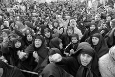 November 21 1979 Tehran Iran women demonstrating.
