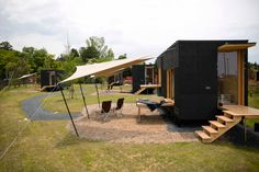 Tiny House Design, Camping Equipment, Mobile Home, Camper Trailers, Sustainable Living, Country Life, Glamping, Sustainability, Cabin