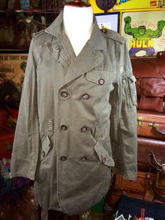 Vintage 1990's Tommy Hilfiger Military Inspired by TheMaineVintage