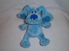 ty stuffed animals | ... Ty Plush Blues Clues Dog Beanie Baby Nickelodeon Stuffed Animal Toy