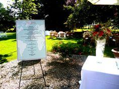 wedding menu voyage theme