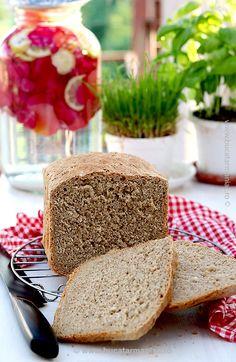 Pâine integrală la mașina de pâine